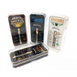 Brass Knuckles™ Cartridges 1g & Batteries